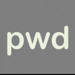 pwdコマンド
